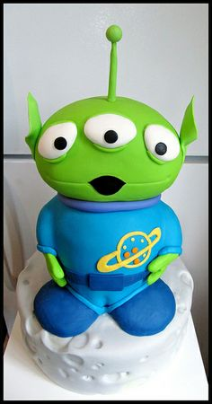 alien cake, stori alien, toy stori, alien food, alien yummi, toys, disney, yummi food, monster cakes