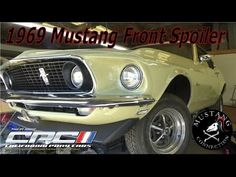 1969 Mustang Front S