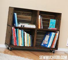 DIY Wood Crate idea