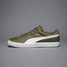 Puma Clyde Undftd Ripstop Olive