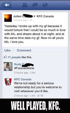 Friend Zoned By KFC