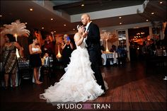 John and Mariela wedding reception at La Louisiane www.lalouisiane.com Credit Studio Tran