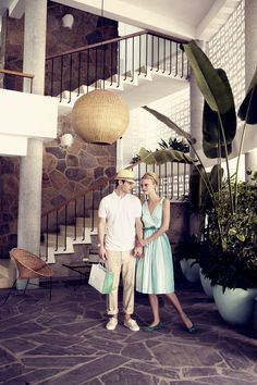 "The Stylish Holidaymakers,""Feels, Looks & Sounds  Like Miami""  even though is was shot on location in Acapulco, by Pasquale Abbattista and styled by Kathrin Seidel featuring models Sophie Holmes & Lucien Thomkins for Elle Germany May 2011.  ""Feels Like Miami"""