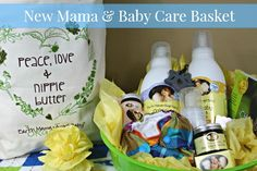 Angelic Baby Shower Gifts for Mom and Baby #earthmama #ad