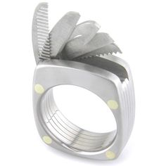 The Man Ring Titanium Utility Ring by boonerings on Etsy.