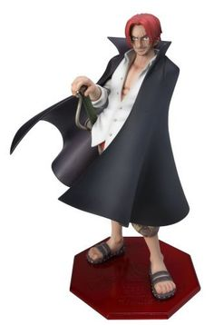 One Piece: Neo 4 Portraits of Pirates Shanks Red Haired Figure 1/8 Scale by MegaHouse. $133.15. 1/8th scale figure. Approximately 22cm tall. Removable cloak. He can really work that cloak. Shanks - Captain of the Red Haired Pirate CrewIn the One Piece animated series, Shanks is captain of the Red Haired Pirate Crew which is a group of rabble rousers with a penchant for living it up. Despite their tendency towards alcoholic libations, the Crew is nevertheless a...