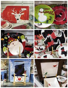 Blogger Cathy shows off all the pretty ways to display Christmas cookies and treats!