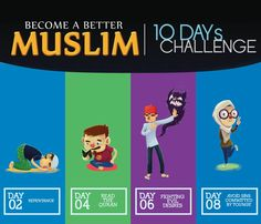 Steps to become a better muslim