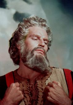 TEN COMMANDMENTS:  Charlton Heston