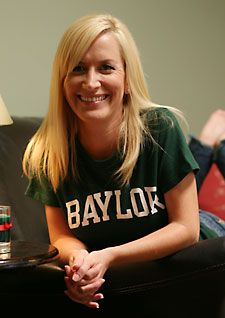 "Angela Kinsey (from NBC's ""The Office"") is a proud Baylor alum! // #Baylor University class of 1993"