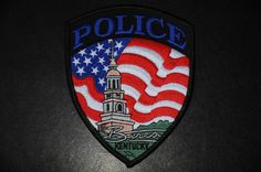 Berea Police Patch, Madison County, Kentucky