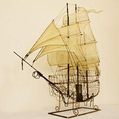 boat lamp, Pascale Palun