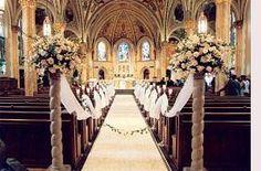 Church Wedding Decorations3