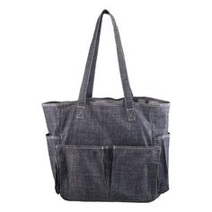 #r29summerstyle :: Angela's Garden denim tote bag