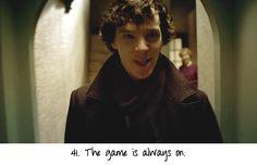 Rules of the Sherlock Fandom. #41