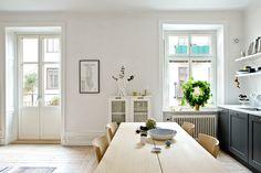 Cuisine + salon...