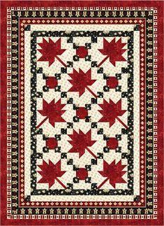 Maple Leaf Parade - Quilt Kit (New)