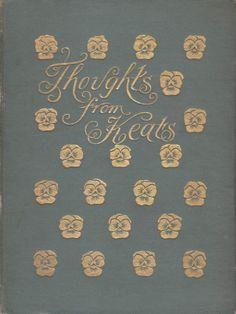 John Keats 1898 'Thoughts from Keats'.