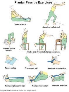 plantar fasciitis exercises