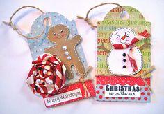 christma tag, gift packag, card christma