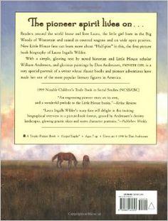Pioneer Girl: The Story of Laura Ingalls Wilder: William Anderson, Dan Andreasen: 9780064462341: Amazon.com: Books