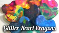 craftychica recently made some pretty neat crayon hearts from Sue Wilson