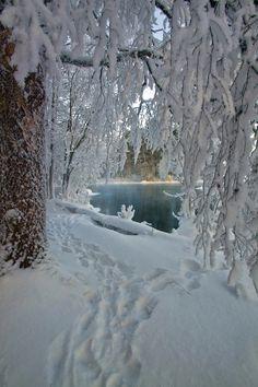 Hidden Ice (Finland) by MilaMai | Tumblr