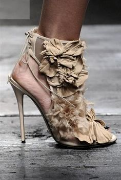 Valentino haute couture shoes :)