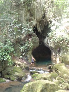 Mayan Cave near San Ignacio, Belize