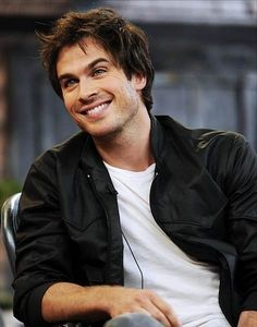 Ian Somerhalder.. another great smile