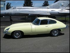 1966 Jaguar XKE Fixed Head Coupe  4.2/265 HP, 4-Speed
