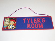 Disney Jake and the Neverland Pirates Personalized by JustForYou22, $15.00