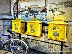 Osijek, Croatia - mail boxes