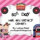 50th Day - This 39 page unit includes 2 literacy centers, 2 math centers, and 1 emergent reader activity.Literacy and math centers includedLiteracy Activit...