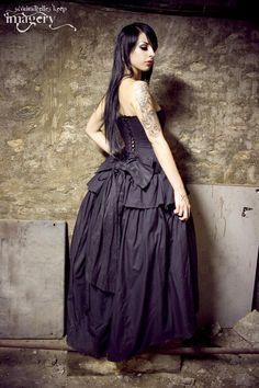Steampunk Wedding Dress Vampire Gothic Lolita Inspired