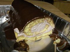 Diana's Oopsie Roll Cake...low carb. Approved for Atkins Induction Phase (1-2 net carbs per serving)!!!