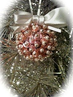 Sequin Ornament. New take on old craft.