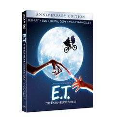 E.T. The Extra Terrestrial Anniversary Edition Blu-ray Combo Pack