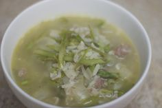 Zuni Cafe: Asparagus and Rice Soup