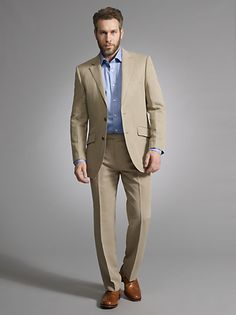 John Lewis Silk and Linen Suit
