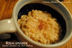 Risalamande (Danish Christmas Eve Rice Pudding) for #SundaySupper