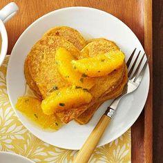 Pumpkin-Ricotta Pancakes #myplate