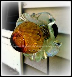 Recycled Glass Garden Flowers