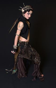 Samantha Emanuel tribal fusion bellydance