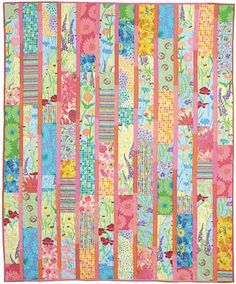 Kaffe Fassett Quilt Kits | Make This Fun Quilt In No Time At All! – FabTalk - Its All About ...