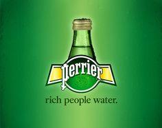 #slogans para gente de verdad #Perrier