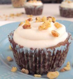 Quinoa, vegan, gluten free cupcake