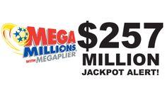 Tonight, 12/3, has a MEGA jackpot of $257 million. Idaho, get your #MegaMillions tickets before 7:55 p.m. MT tonight!