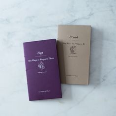 10 Ways of Preparing…Figs & Bread Book Bundle on Provisions by Food52