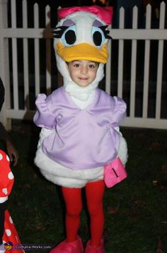Daisy Duck - 2012 Halloween Costume Contest